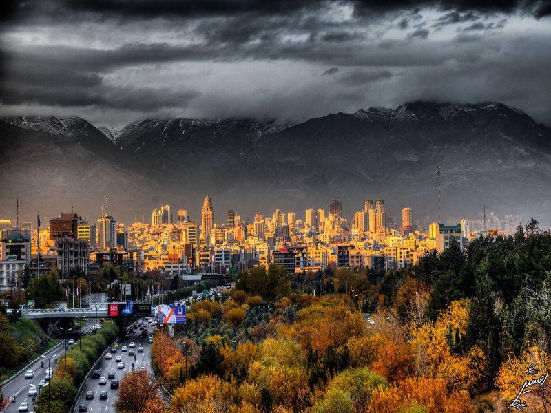 Tehran-rain