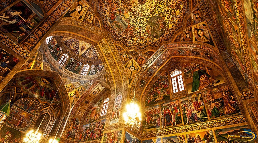 vank-cathedral-isfahan-roof