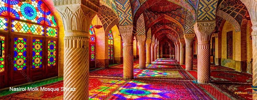 nasirol molk mosque shiraz